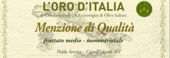 L'ORO d'Italia – Coratina