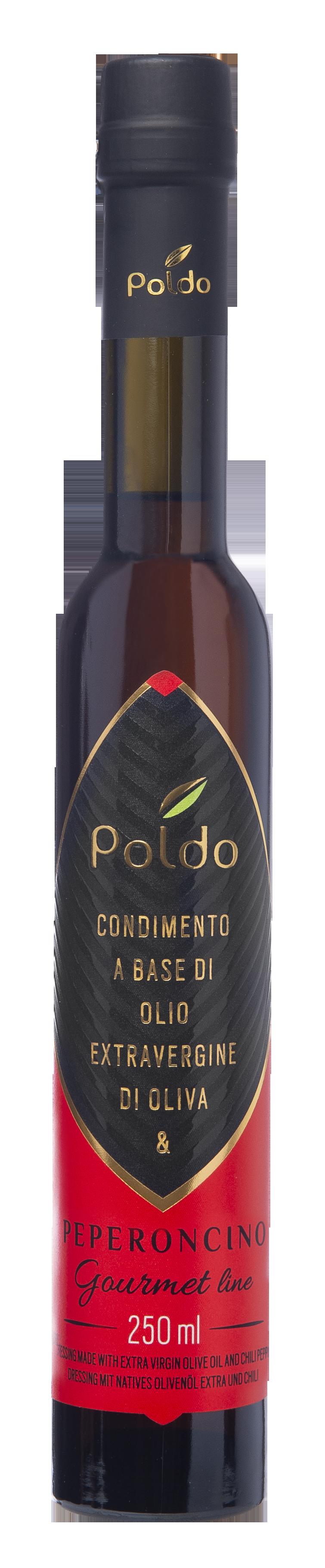 Bottiglia da 250 ml di condimento al peperoncino gourmet