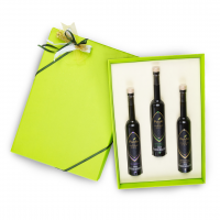 Confezione regalo verde con 3 bottiglie da 100ml